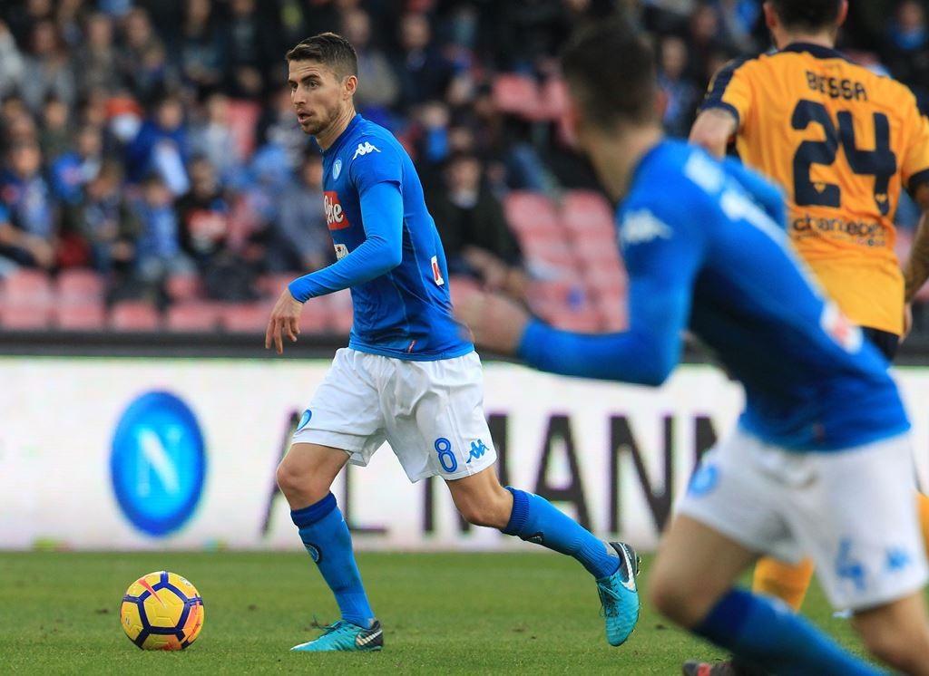 Gelandang Napoli Jorginho (Foto: AFP)