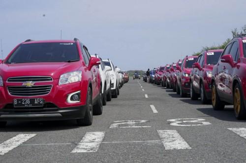40 Chevrolet Trax ikut dalam turing menuju Jogja. T-RAX