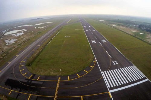 Perpanjangan Landasan Pacu Bandara Kertajati Rampung Oktober