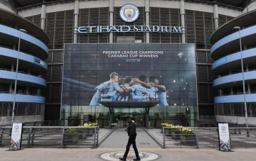 Markas Manchester City (Foto: AFP/Paul Ellis)