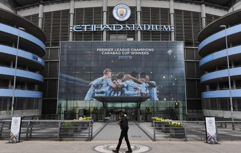 Markas Manchester City (Foto: AFP/Paul Ellis)