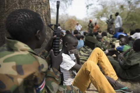 Ratusan Prajurit Anak-Anak di Sudan Selatan Dibebaskan