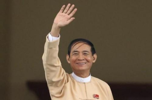 Presiden Myanmar Win Myint beri amnesti kepada 8.500 tahanan