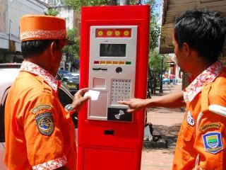 Retribusi Parkir di Bandung hanya 5% dari Target