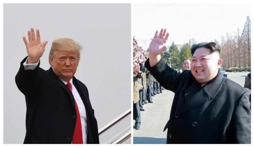 Trump pertimbangkan lima lokasi untuk bertemu Kim Jong-un.