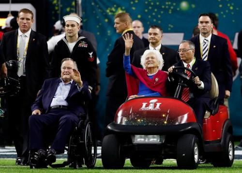 Barbara Bush wafat di usia 92 tahun pada Selasa 17 April 2018