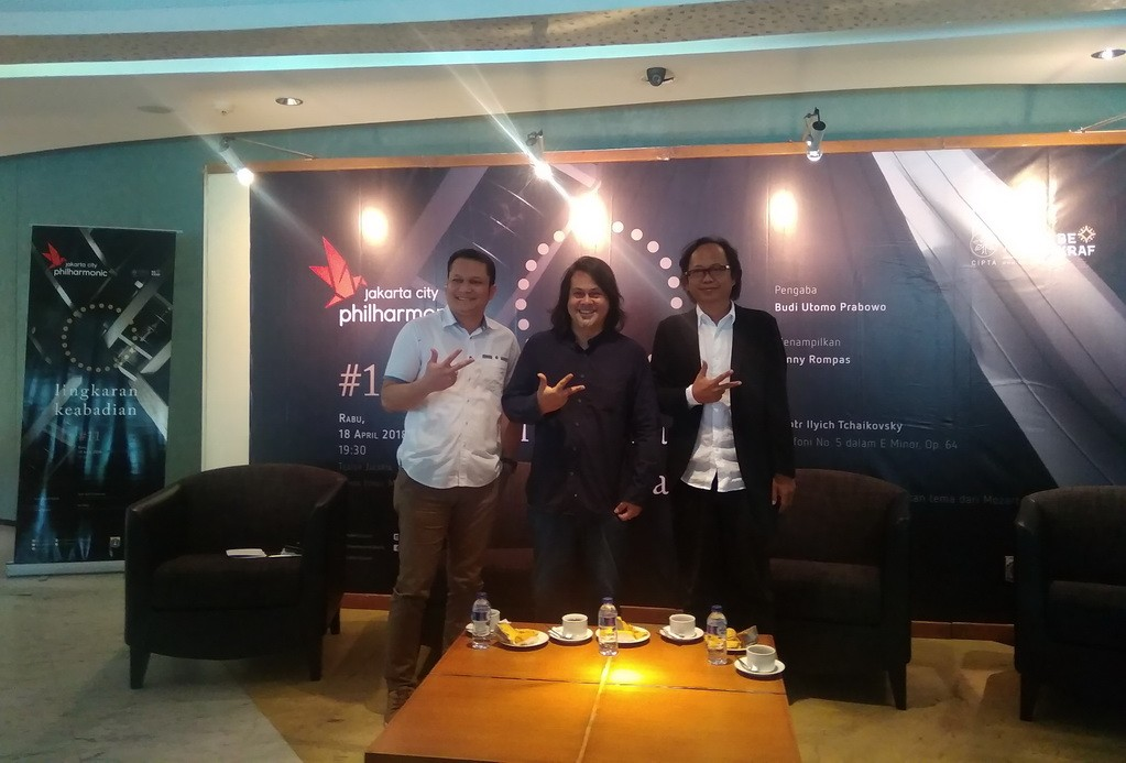 Jumpa pers Jakarta City Philharmonic (Foto: Medcom/Cecylia)