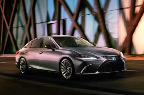 Lexus Pamer Desain ES Terbaru