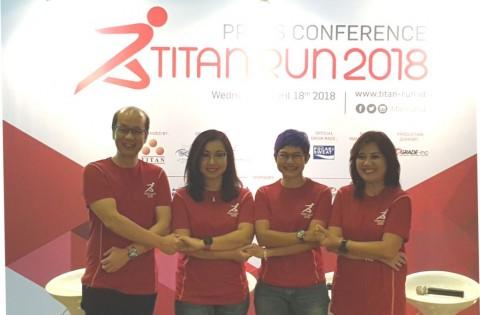 Nomor Lari Unik dan Pesta Durian di Titan Run 2018