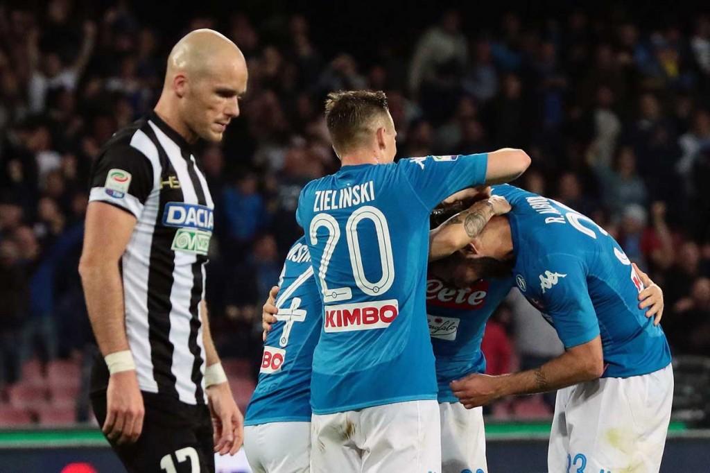 Dua Kali Tertinggal, Napoli Tekuk Udinese 4-2