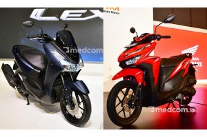 Yamaha Lexi vs Honda Vario 125, Mana Lebih Unggul?