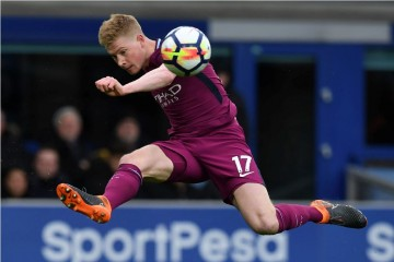 Kevin de Bruyne (AFP PHOTO / Paul ELLIS)