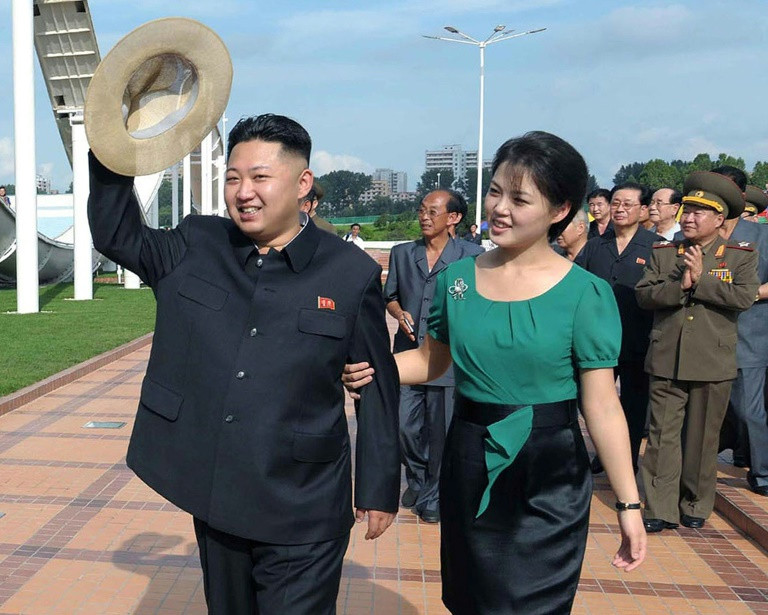 Ri Sol-Ju was a star singer before she became North Korea's first lady. (Photo:AFP/KCNA via KNS)