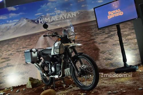 Royal Enfield Himalayan akhirnya resmi dijual. Medcom/ A. Harry
