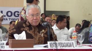 Mendag Lepas Ribuan Ton Beras Impor di 8 Provinsi