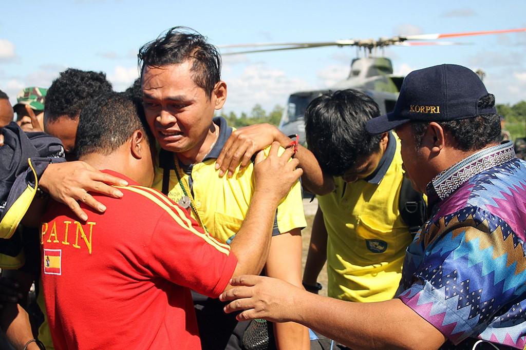 13 Guru Korban Penyanderaan KKSB Papua Dievakuasi