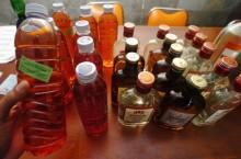 Polisi Sita 721 Botol Miras di Tanjung Duren