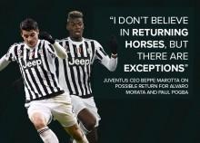 Juventus Ragu Bisa Rekrut Kembali Pogba dan Morata