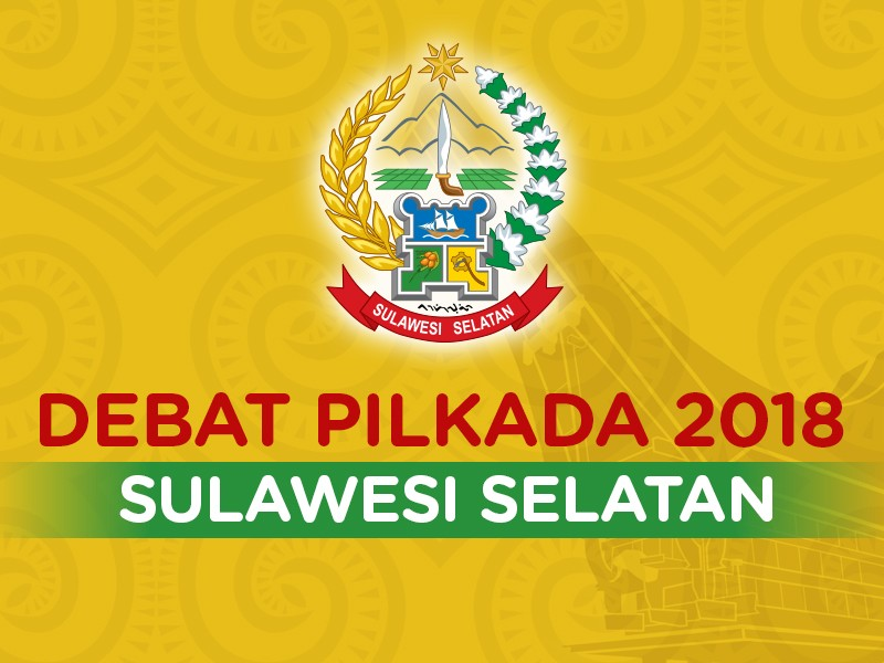 Debat Pilkada 2018 - Sulawesi Selatan, Pasangan Nomor Urut 1