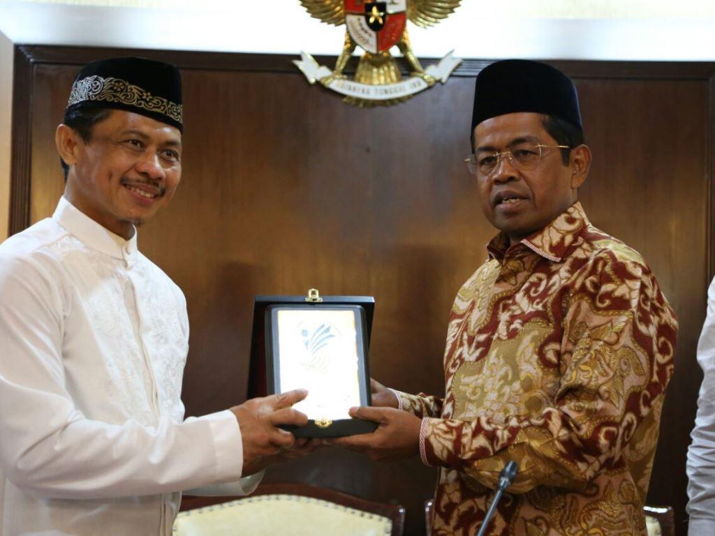 Mensos dukung pembangunan pesantren Indonesia di New York. (Foto: Dok. Kemensos).