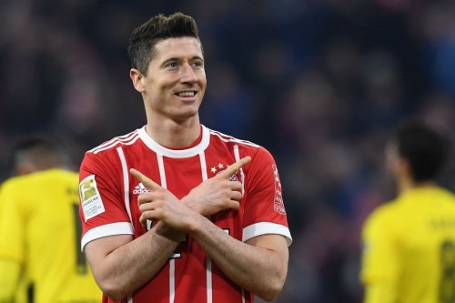Robert Lewandowski. (AFP PHOTO / Christof STACHE)