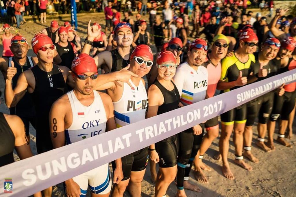 Ilustrasi Sungailiat Triathlon (Foto: dokumentasi Kadin)