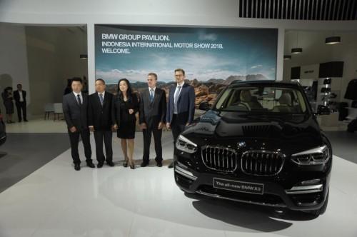 ALL New BMW X3 tampil untuk pertama kali dihadapan publik di