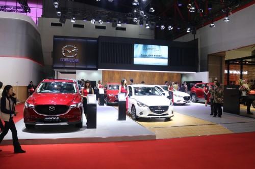 Booth Mazda di IIMS 2018. Mazda