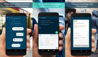 Aplikasi Google Permudah Belajar Coding dari Ponsel