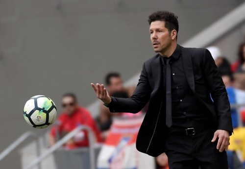 Diego Simeone. (AFP PHOTO / GABRIEL BOUYS)