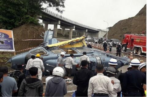 Korban Tewas Akibat Terkena Baling-baling Helikopter