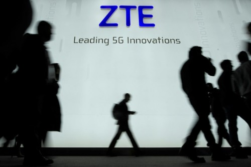 ZTE said the seven-year ban on buying US technology 'seriously