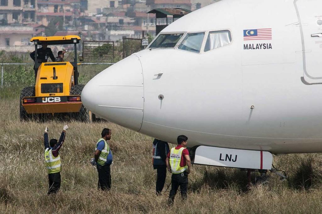Bandara Nepal Ditutup Setelah Pesawat Malindo Tergelincir
