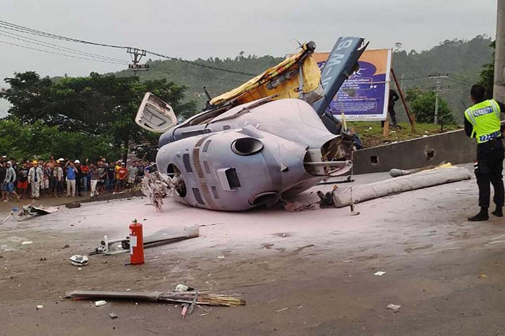 Helikopter Jatuh di Morowali, 1 Orang Tewas