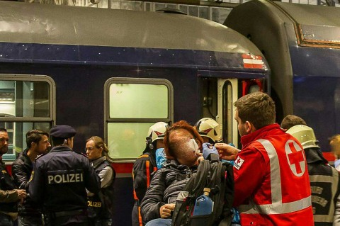 Tabrakan KA di Austria, 54 Luka-luka
