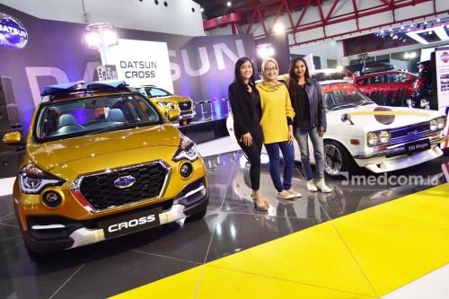 Datsun Cross digambaran tangguh untuk berbagai kebutuhan.