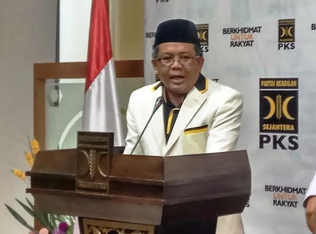 Presiden PKS Sohibul Iman. Foto: Medcom.id/Faisal Abdalla