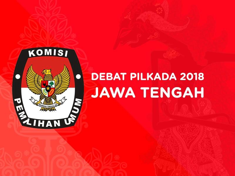 Debat Pilkada 2018 Jawa Tengah, Pasangan Calon Nomor Urut 1