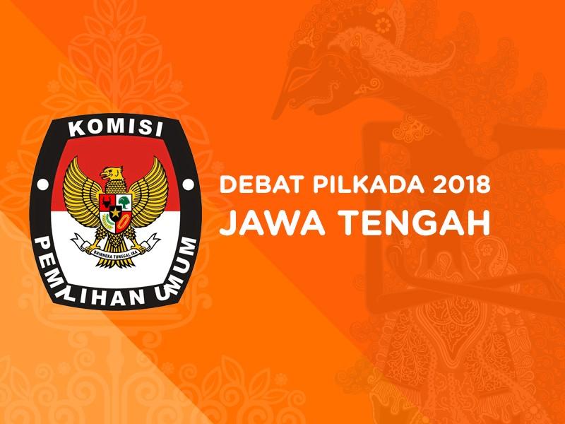 Debat Pilkada 2018 Jawa Tengah, Pasangan Calon Nomor Urut 2