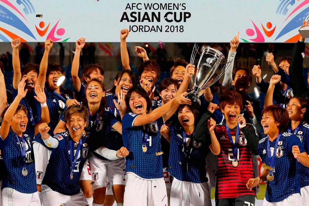 Timnas Putri Jepang Juara Piala Asia