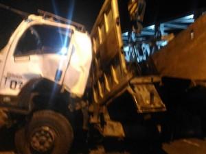 Evakuasi Bangkai Truk di Jembatan Widang Tuntas
