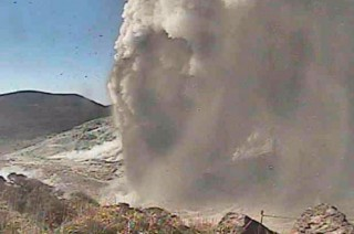 'Tertidur' 250 Tahun, Gunung Io di Jepang kembali Meletus