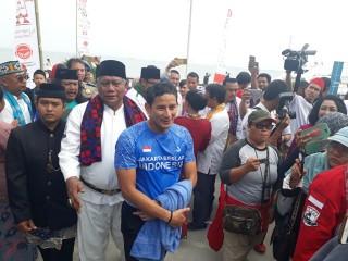 Sandi Berenang untuk <i>Soft Launching</i> Pulau Bidadari