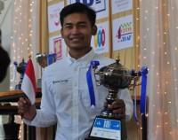 Novendra Priasmoro Juara di Bangkok Open 2018
