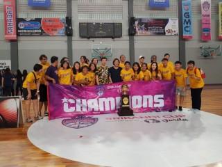 Kalahkan Merpati Bali, Surabaya Fever Juara Srikandi Cup Musim 2017--2018