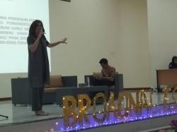 Zilvia Iskandar Beberkan Kiat Jadi Jurnalis