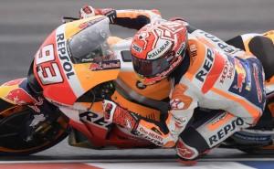 Marquez Rebut <i>Pole Position</i> di COTA