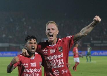 Menang Atas Barito Putera, Bali United Belum Terakalahkan di Liga 1