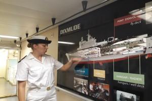 Mengintip Interior Kapal Perang Prancis Dixmude