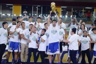 Satria Muda Juara IBL 2017--2018